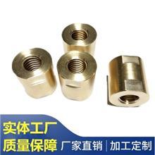 非标黄铜件加工定制精密智能指纹锁配件不锈钢装饰圈门锁销轴