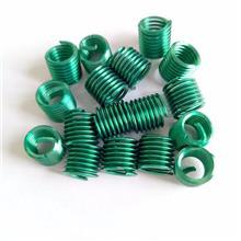 緊固件綠色鋼絲螺套_中航飛航_非標綠色鋼絲螺套_標準規格