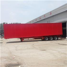 三桥集装箱半挂车 二轴集装箱半挂车 轻型集装箱运输车 厂家全国供应