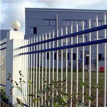 小区锌钢护栏 锌钢草坪护栏 市政安全防护栏杆