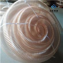 厂家pu钢丝软管价格 pu透明钢丝软管 优质带钢丝pu管