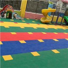 轮滑场运动地板 户外防滑悬浮地板 悬浮式拼装篮球场羽毛球场地板