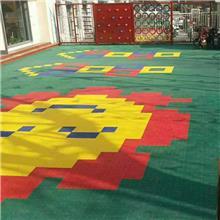 PVC彩色防滑悬浮地板 耐磨篮球场悬浮地板幼儿园拼装悬浮地板批发