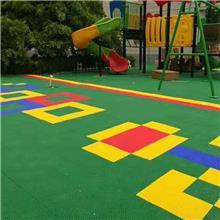 劲踏室外幼儿园悬浮地板篮球场操场防滑悬浮式拼装地板厂家直销