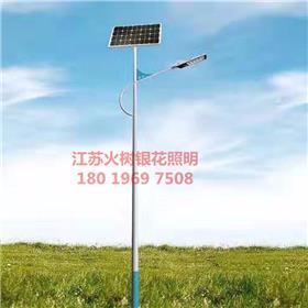 日照 火树银花照明 厂家定制太阳能路灯户外灯新农村5米6米8米单头双头路灯大功率led