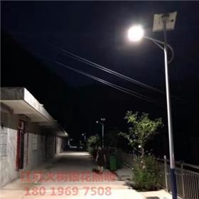 琼海 火树银花照明 厂家定制太阳能路灯户外灯新农村5米6米8米单头双头路灯大功率led