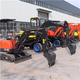 微型液压挖掘机价格低 35履带挖掘机厂家