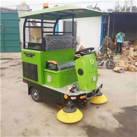 半封闭电动扫路车 小型扫路车 厂区工业电动扫路车