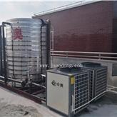 南京月子中心4臺5匹空氣能熱泵機組 20噸恒溫水箱 江蘇卓奧