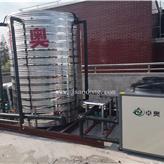 5匹空氣能熱水器 空氣能供暖設備 熱水工程設備廠家生產
