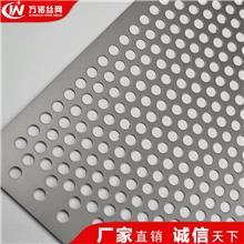 万诺 厂家供应范县不锈钢圆孔网金属穿孔板 镀锌冲孔网板 多孔洞洞网板