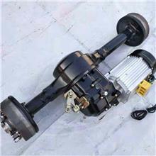摩托车后桥电动车改装柴油动力油电两用油电混合双动力发动机后桥