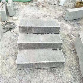 花岗岩台阶石 户外防滑台阶踏板安装 大理石工程用料选五莲花厂家