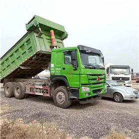 出售二手后八轮德龙自卸车交易 欧曼 豪沃双桥工程车