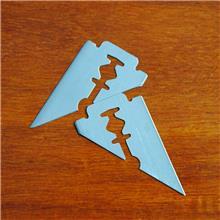 三角刀片厂家 恒利刀片 异形三角形刀片 硬质合金金属刀片 厂家直销