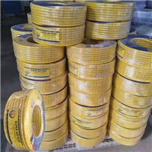 8MM黃色三膠兩線高壓管 氮氣專用氣管 柔軟 質輕方便
