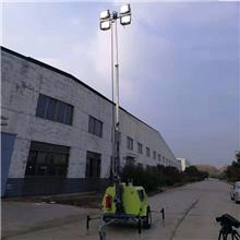 广西贺州市拖车式照明车进口柴油动力的高杆灯