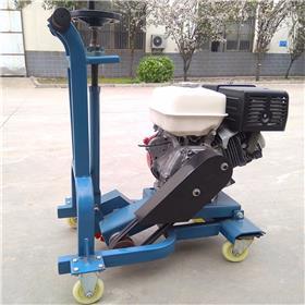 小型汽油混凝土开槽机 沥青路面无尘曲线开槽机