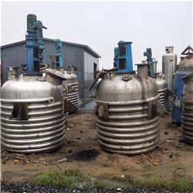 处理二手反应釜 二手不锈钢电加热反应釜 二手2吨电加热反应釜