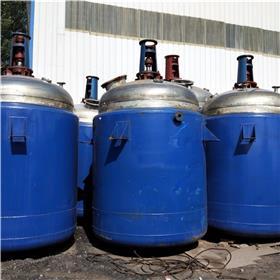 直销二手 高压反应釜 搪玻璃反应罐 搪瓷反应釜价格 加热反应釜
