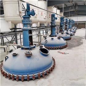 常年购销二手反应釜 二手3吨不锈钢反应釜 搪瓷反应釜