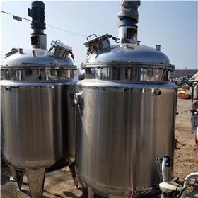 购销二手5吨搪瓷反应釜 二手电加热反应釜 二手外盘管反应釜