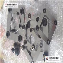 汕头联轴器 生产厂家 45#专业定制铆钉式不锈钢叠片 联轴器膜片配件 不锈钢膜片组 不变形