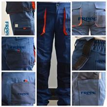 厂家直供 FRPPE品牌直贡缎背带裤 多口袋超实用美观工装裤