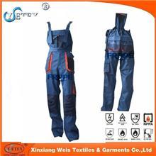 厂家直销 高阻燃性能 高防电弧 阻燃背带裤 定做防电弧阻燃面料