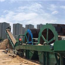 廠家直銷輪式洗砂機_礦用洗沙機械設備大型_單輪斗式高效洗沙機