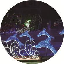 仿真荷花灯 LED景观灯 雕塑艺术灯工程 厂家热销