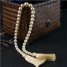 红掌柜珠宝_海水金色珍珠塔链_海水金珍珠项链_纯珍珠的价格