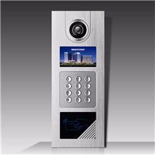 智能可视楼宇对讲门铃 可视对讲机 小区单元门铃套装 电话开锁对讲门禁 视博朗对讲厂家