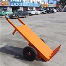 手推电动平板拉砖车坐骑式电动三轮拉灰车 工地电动工具运料车 河北电动工具车厂家