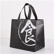 覆膜无纺布袋服装皮草环保袋覆膜彩印立体袋定做空白袋logo热压手提袋
