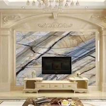 连纹大板瓷砖轻奢别墅客厅电视背景墙大理石