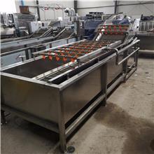 茎叶蔬菜清洗设备 净菜加工设备 中央厨房净菜清洗加工设备 盛德诺生产厂家