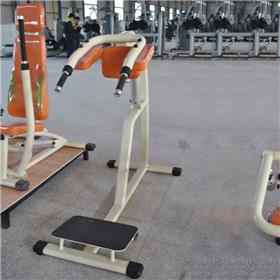 健身房商用坐式屈腿训练机 坐姿屈腿腿部训练器 前踢伸腿训练器