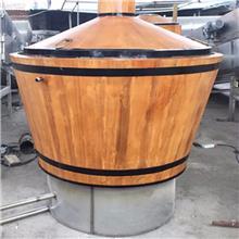 我公司专用生产不锈钢酿酒设备 外包木质酿酒设备 价格便宜质量好 性能优越 欢迎考察