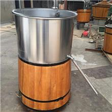 不锈钢小型酿酒设备 不锈钢烧酒设备 电加热蒸酒设备 可按图纸定做