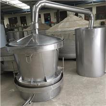 不锈钢酿酒设备 白酒烧酒设备 使用周期长 出酒率高 小型不锈钢酿酒设备