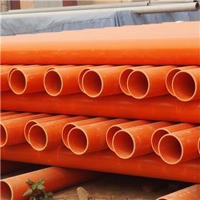 厂家定制高压CPVC电力管耐腐蚀纯原料CPVC电力管价格优惠CPVC电力管