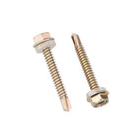 外六角钻尾螺丝 法兰自攻自钻螺钉/彩钢瓦燕尾螺丝钉M4.8 5.5