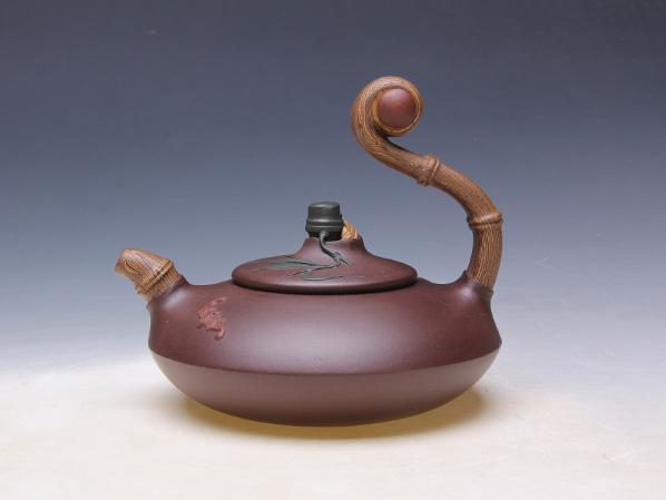 宜兴紫砂壶祝福350ml_布邑壶_陶瓷茶具套装_出售正品