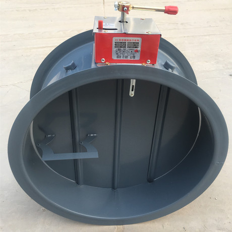 圆形防火阀 280度防火阀碳钢材质防火阀 3C圆形排烟防火阀厂家