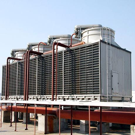 厂家直销方形冷却塔 圆形逆流式冷却塔    玻璃钢冷却塔加工定制