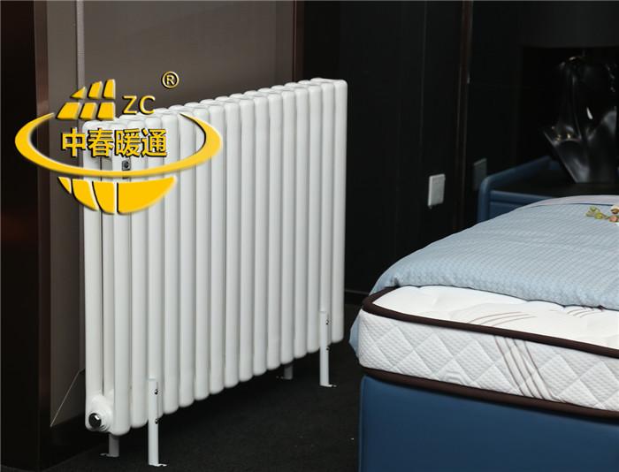钢制二柱 5025/6030暖气片 立式双柱 家用/工程 厂家直销