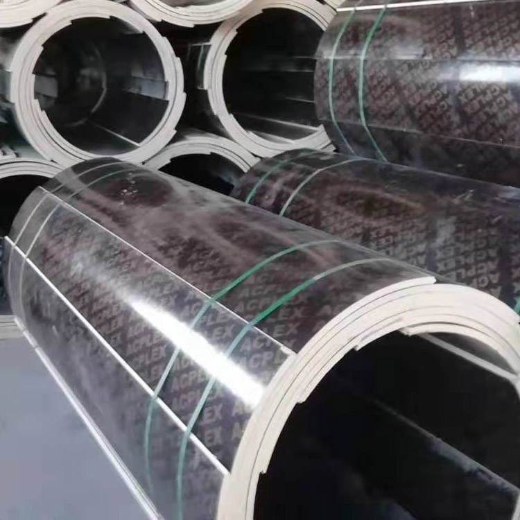 圆柱模板_绿茵圆模板_弧形模板_圆弧模板厂家直销-木质圆模板