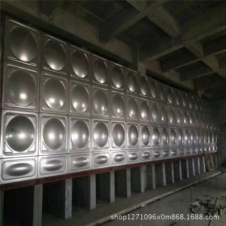 直销定制304不锈钢大型保温水箱  SDF方形组合式生活消防抗腐蚀性