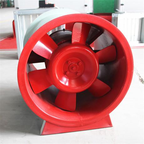 厂家直销 排烟风机HTF型轴流式消高温排烟风机 低噪音 型号齐全